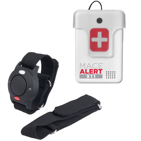 Active Lifestyle Safety Kit: Featuring Wrist Alarm And Mace Alert 911
