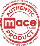 Mace Brand Personal Alarm Wristlet with LED Light (Black)