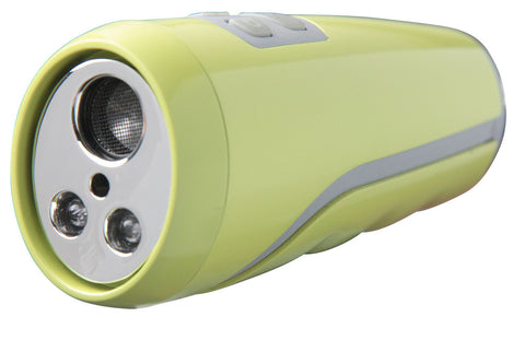DogGone Utrasonic Dog Repellant Siren with 110dB Vigilant Personal Alarm and LED Flashlight (Green)