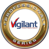 Vigilant PPS-9BL  Professional Series 135dB Personal Emergency Alarm with Belt Clip and Rip Cord (Black)