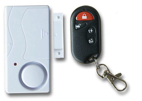 Vigilant Family Protection Wireless Door Alarm with Chime Mode and Keychain Remote Control (Model PPS-813)