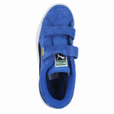 TODDLERS (T) SUEDE 2 STRAPS STRONG BLUE