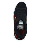 KIDS PUMA SUEDE JR. BLACK VERMILLION ORA