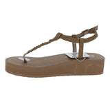 VINYASA SANDAL BROWN