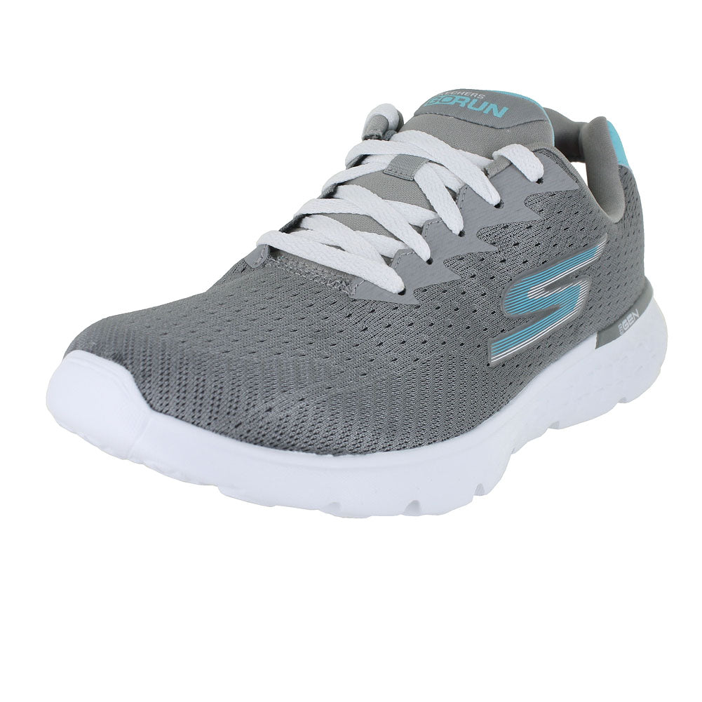 WOMENS GO RUN 400 SOLE WIDE GRAY BLUE