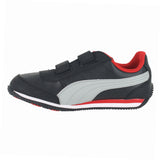 TODDLERS (T) Speed Light Up V BLACK LIMESTONE RED