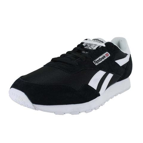 MENS ROYAL NYLON BLACK BLACK WHITE