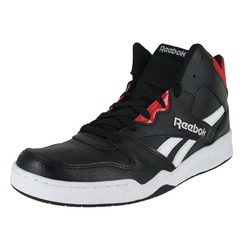 MENS BB4500 HI  BLACK WHITE PRIMAL RED