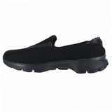 WOMENS GO WALK 3 ALL BLACK