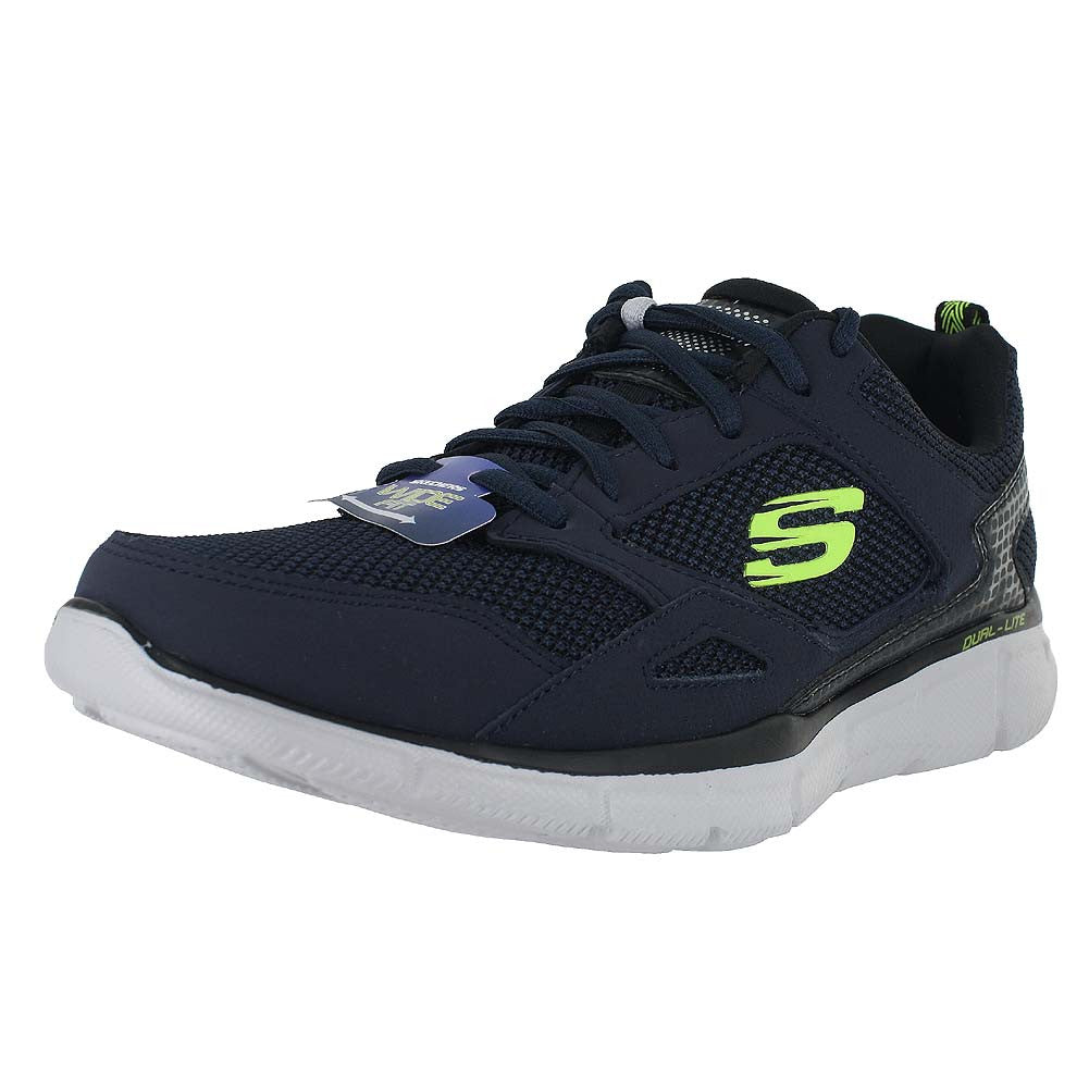 MENS EQUALIZER GAME POINT E- WIDE NAVY LIME