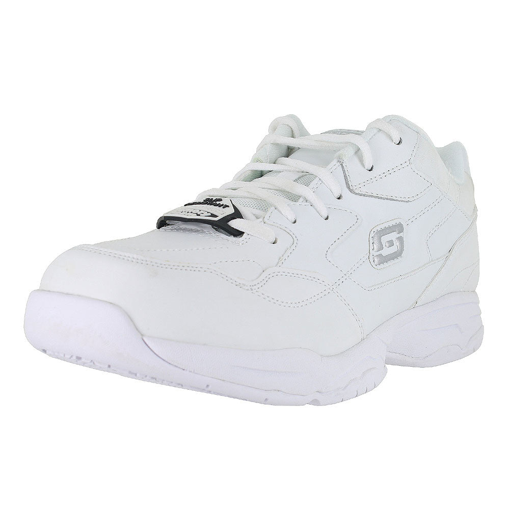 MENS FELTON  MEMORY FOAM WORK WHITE