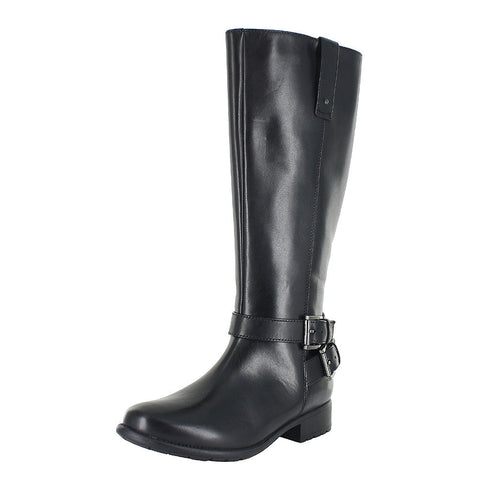 WOMENS PLAZA STEER BOOTS BLACK