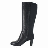 WOMENS KAYLIN SARA RIDING BOOT BLACK