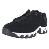 MENS ST329 CMF BLACK WHITE NUBUCK