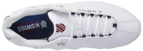 MENS ST329 CMF XW WHITE NAVY RED
