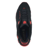 MENS ST 329  BLACK FIERY RED