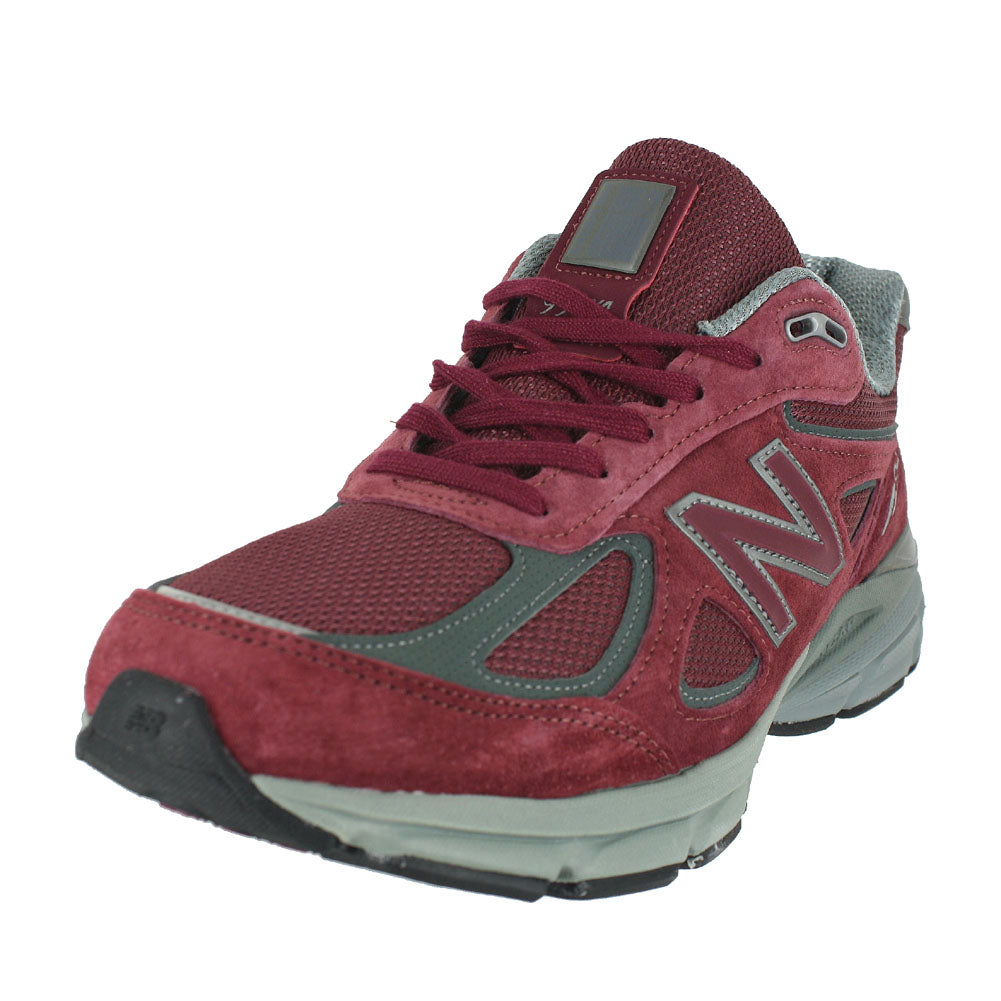 MENS 990V4 D MEDIUM BURGUNDY