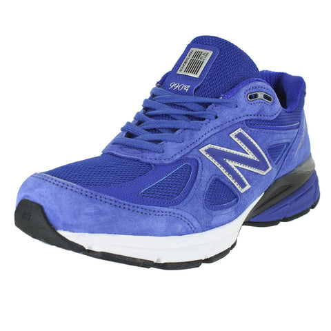 MENS 990V4 2E UV BLUE SILVER