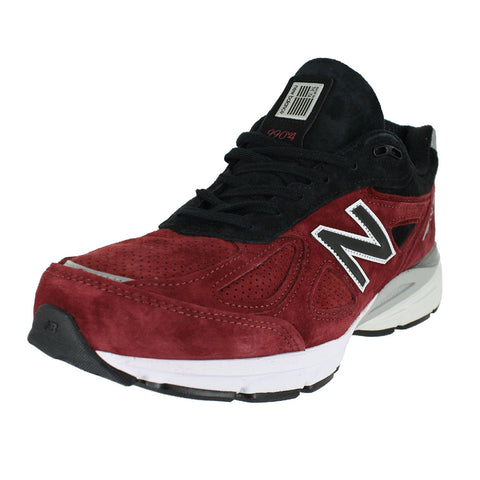 MENS 990V4 D MEDIUM MERCURY RED BLACK