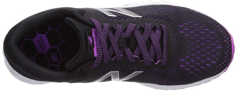 WOMENS ARISHI V2 FRESH FOAM BLACK VOLTAGE VIOLET SILVER