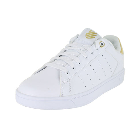 WOMENS CLEAN COURT CMF BRIGHT GOLD