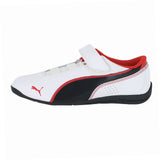 KIDS (K) DRIFT CAT 6 L V  WHITE BLACK RED