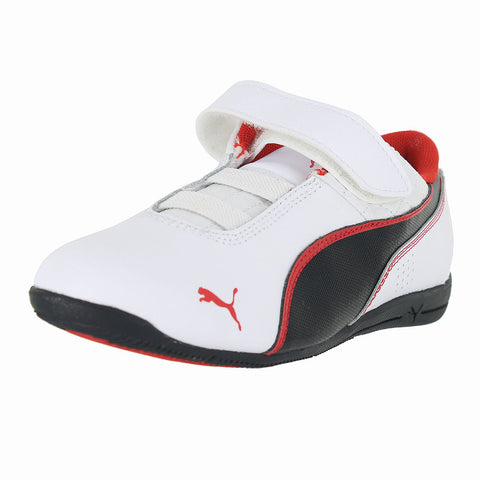 KIDS (T) DRIFT CAT 6 L V  WHITE BLACK RED