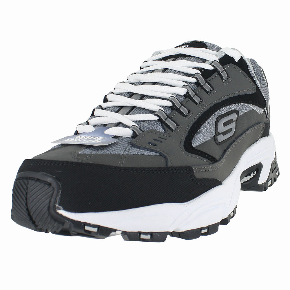 MENS STAMINA NUOVO CHARCOAL BLACK