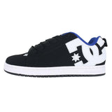 MENS COURT GRAFFIK BLACK WHITE BLUE