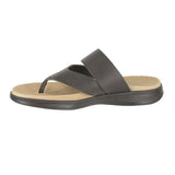 WOMENS ON THE GO LUXE SANDAL BROWN