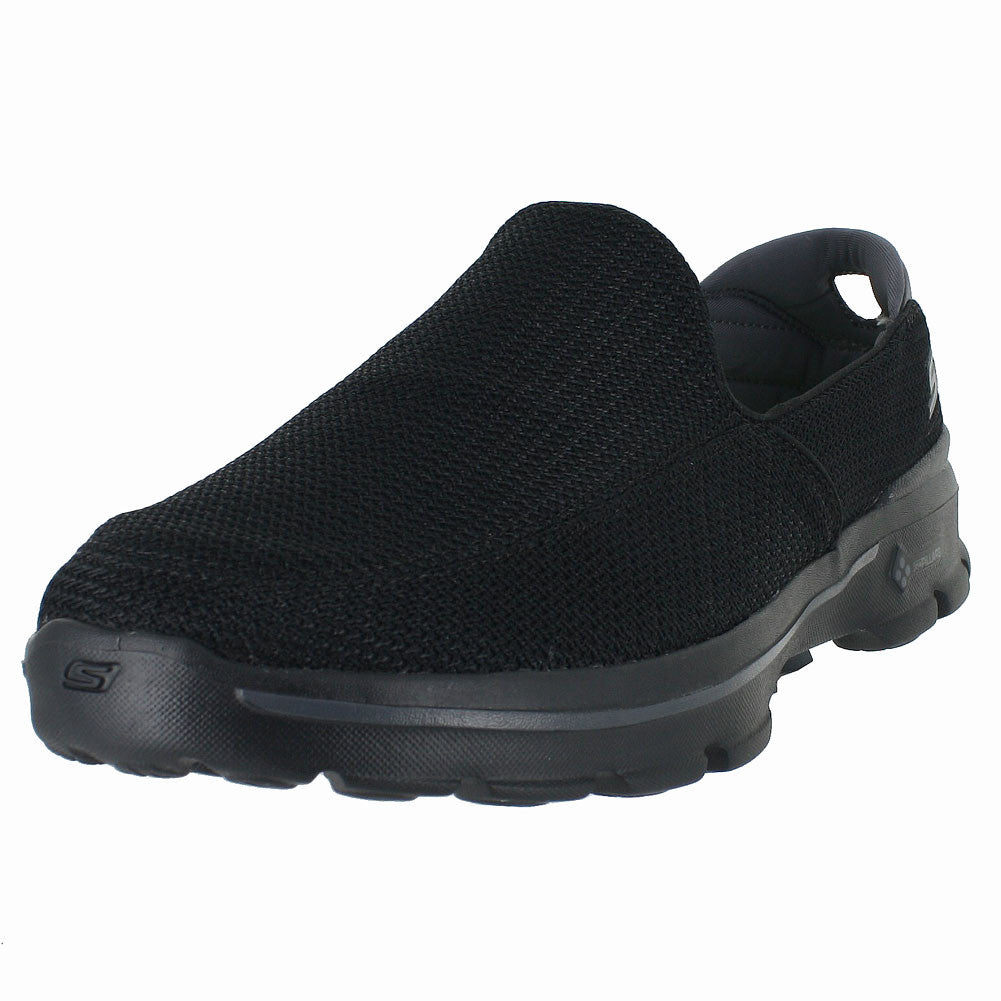 MENS GO WALK 3 ALL BLACK