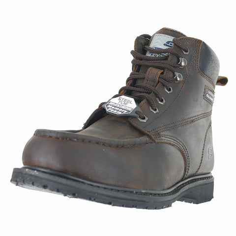 MENS  ON SITE TORRE SLIP RESISTANT DARK BROWN