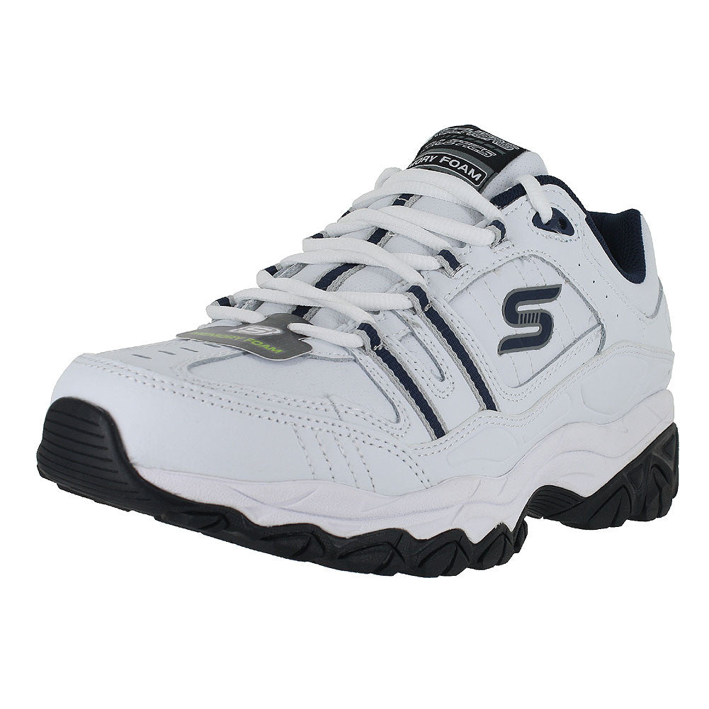 MENS AFTER BURN STRIKE ON WIDE  WHITE NAVY
