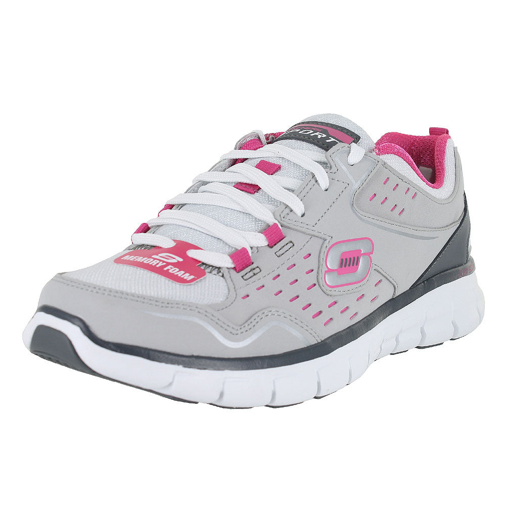 WOMENS SYNERGY A LISTER LIGHT GREY HOT PINK