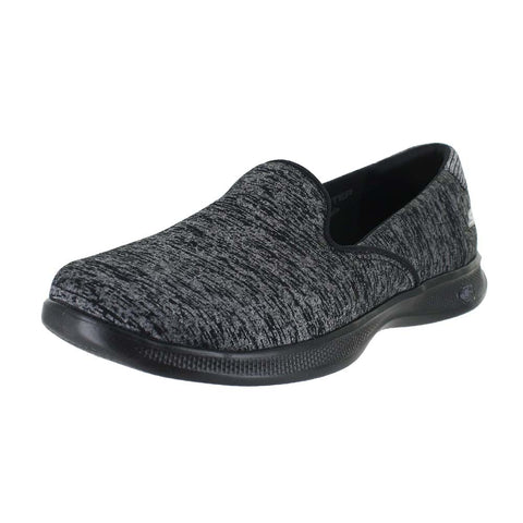 WOMENS GO STEP LITE TWIST BLACK GRAY