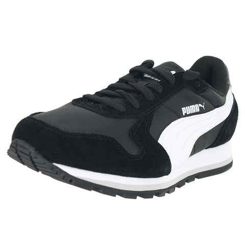 WOMENS ST RUNNER NL  BLACK WHITE