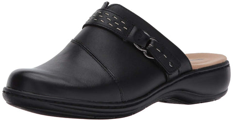 WOMENS LEISA SADIE BLACK LEATHER