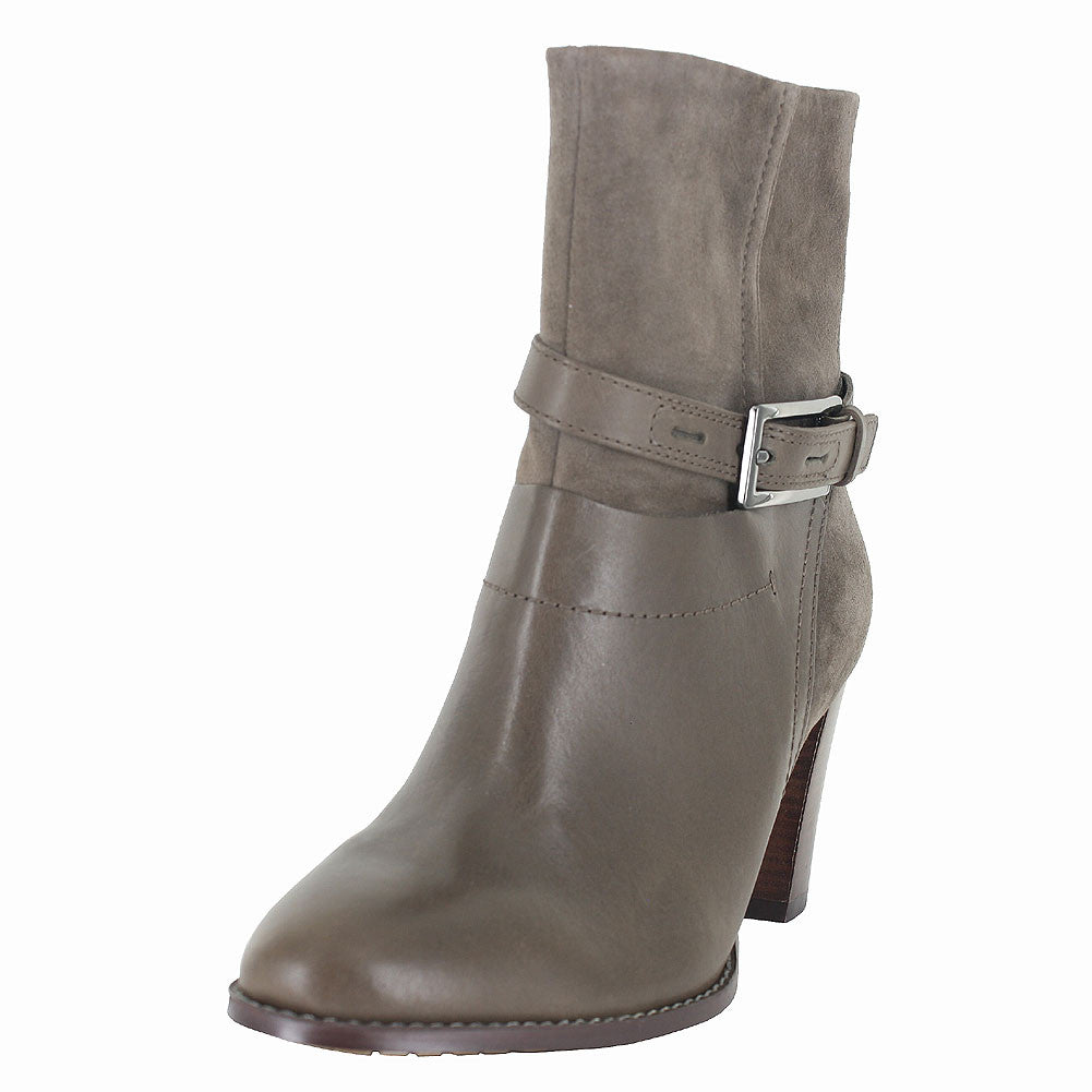 WOMENS KACIA GARNET LEATHER BOOT TAUPE COMB