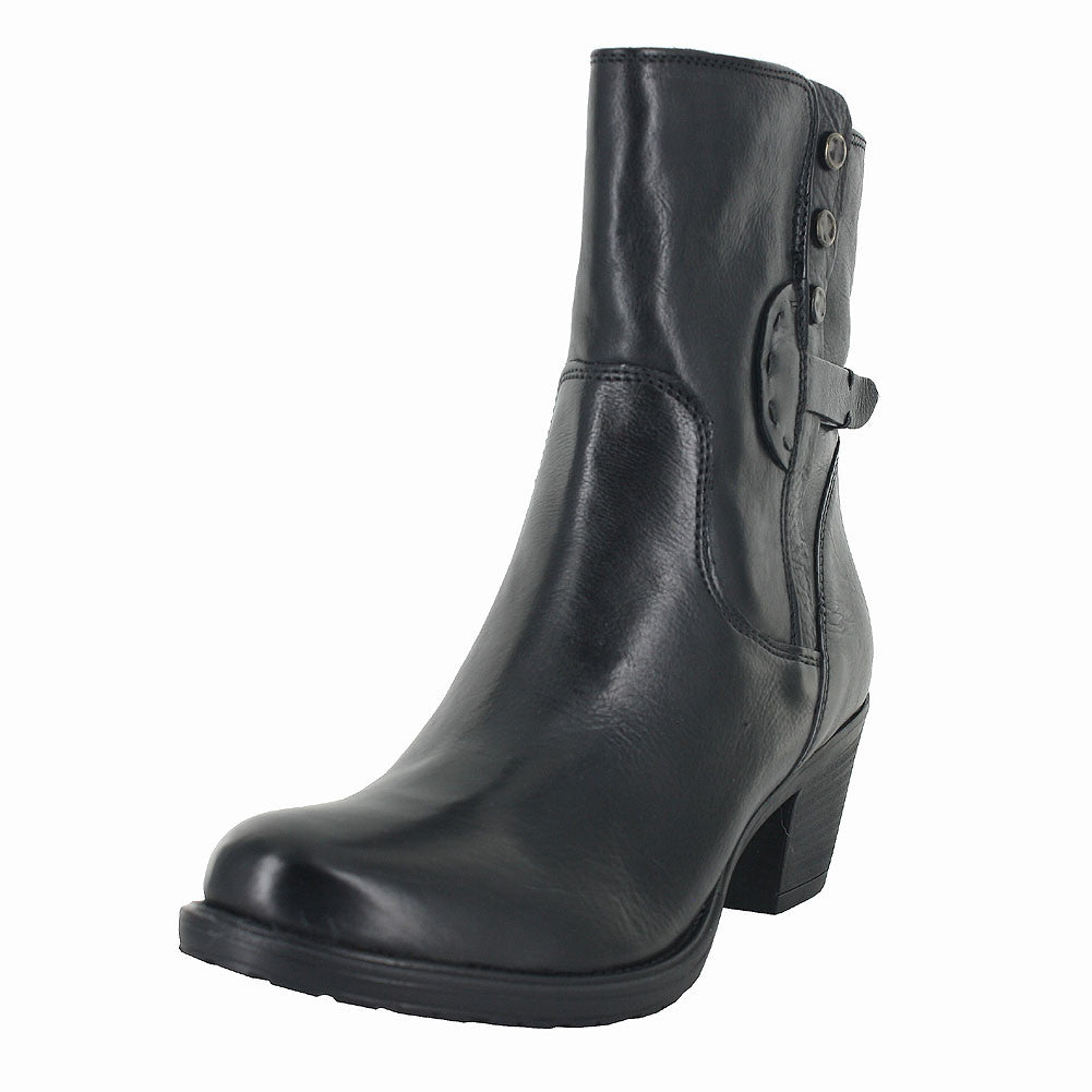 WOMENS MAYMIE SKYE LEATHER BOOT BLACK