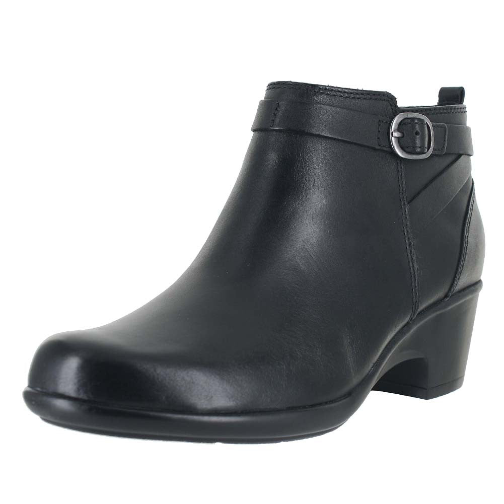 WOMENS MALIA HAWTHORN (W) BLACK LEATHER