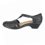 WOMENS WENDY TIGER Q WIDE BLACK