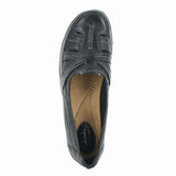 WOMENS ORDEL AVA MEDIUM BLACK LEATHER