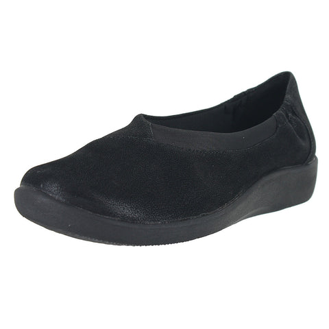 WOMENS SILLIAN JETAY FLAT SYNTHETIC NUBUCK