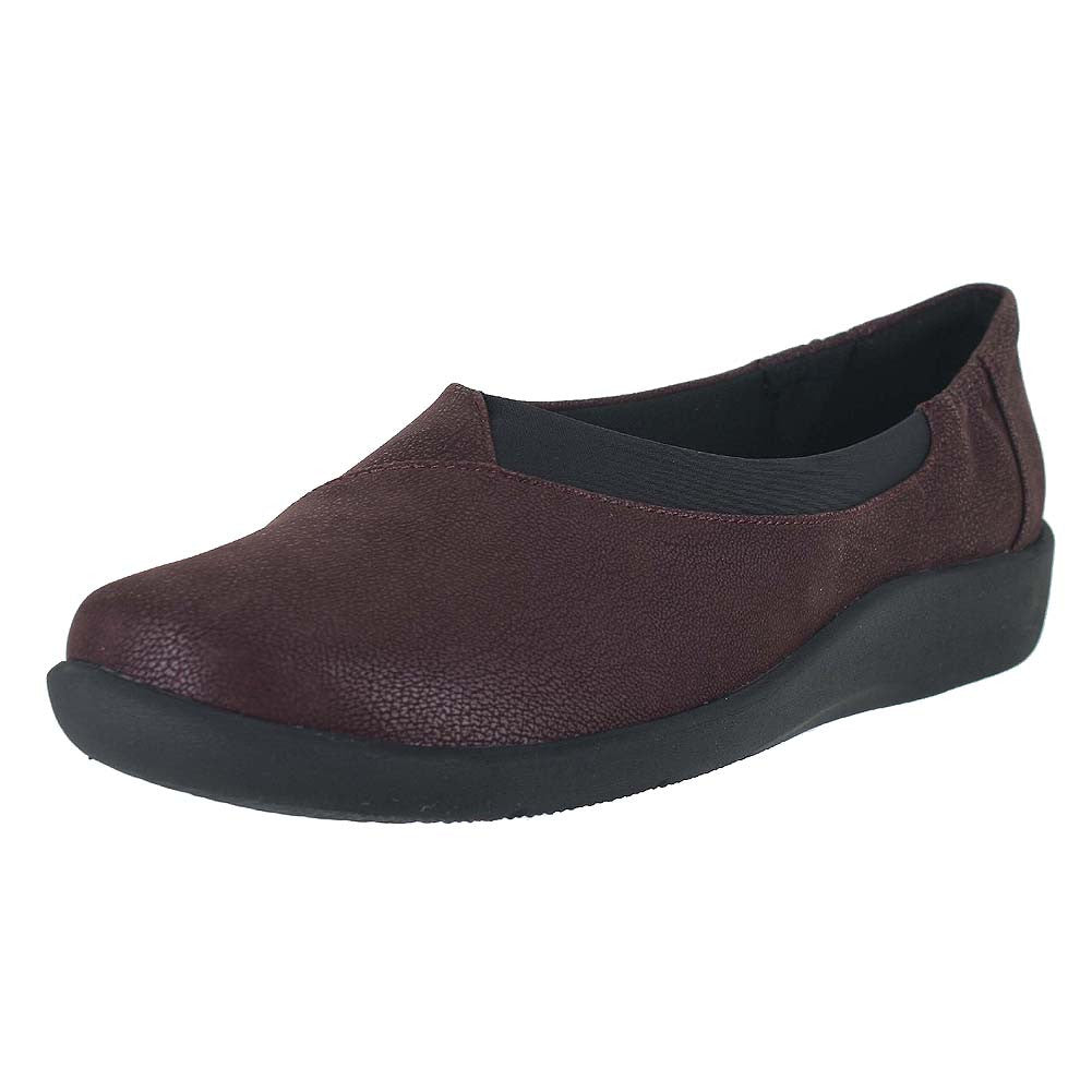 WOMENS SILLIAN JETAY FLAT BURGUNDY