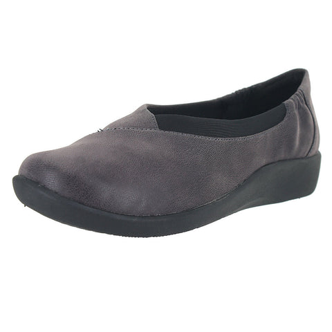 WOMENS SILLIAN JETAY FLAT PURPLE GREY