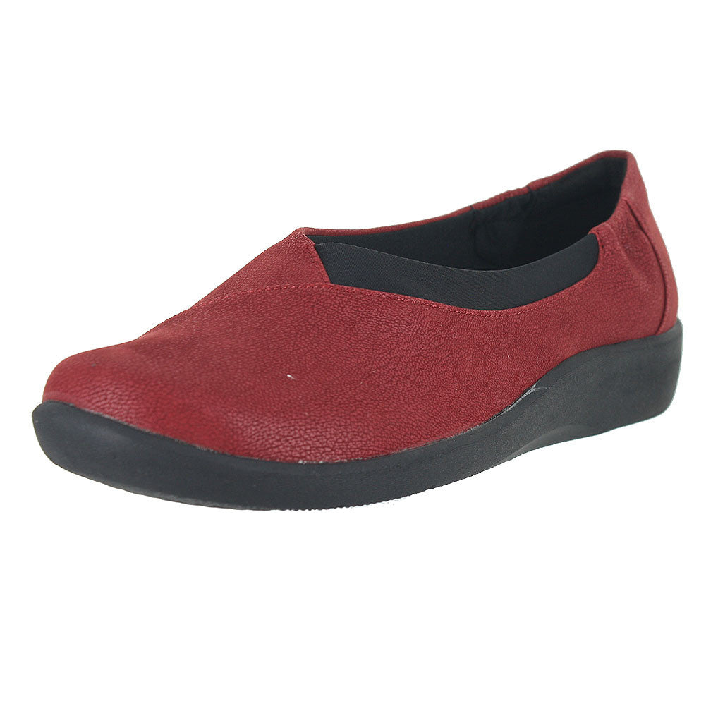 WOMENS SILLIAN JETAY FLAT CHERRY