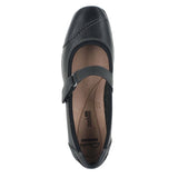 WOMENS HAYDN GARNET BLACK LEATHER