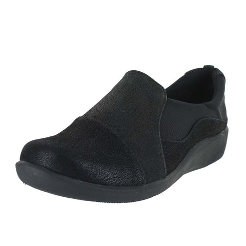 WOMENS SILLIAN PAZ WIDE SYNTHETIC NUBUCK BLACK
