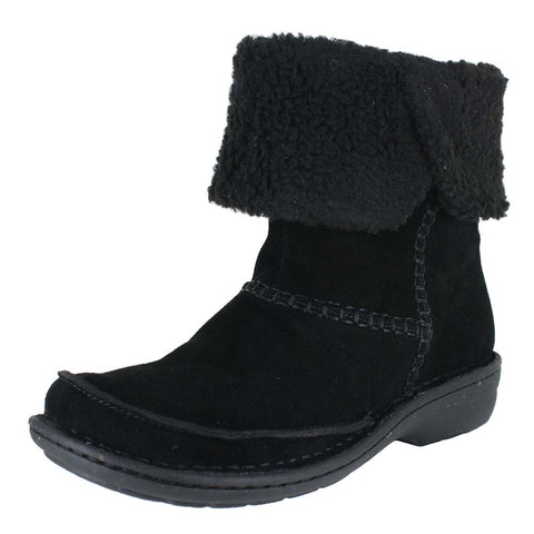 WOMENS AVINGTON GRACE  BLACK SUEDE