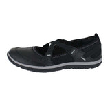 WOMENS ARIA MARYJANE M BLACK LEATHER